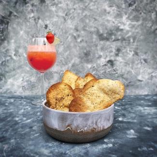 Heerlijke Italiaanse crackers, lekker bij de aperitief.