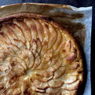 Gemakkelijke appeltaart